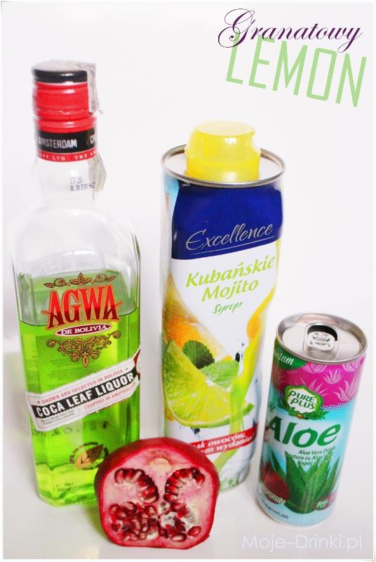 drink granatowy lemon