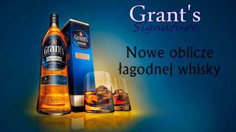 Grants Signature niebieski