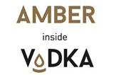 amber inside vodka