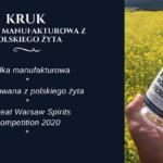 Butelka wieczoru #73 – Kruk Wódka Manufakturowa z Polskiego Żyta
